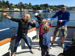 Family Fun on Marine Discovery Tours