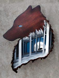 White Bird Gallery, Cannon Beach– Shadowfox